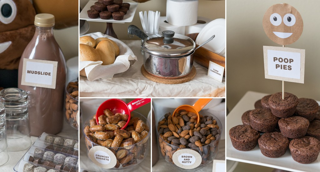 Poopy Foods for a Pooper's Party