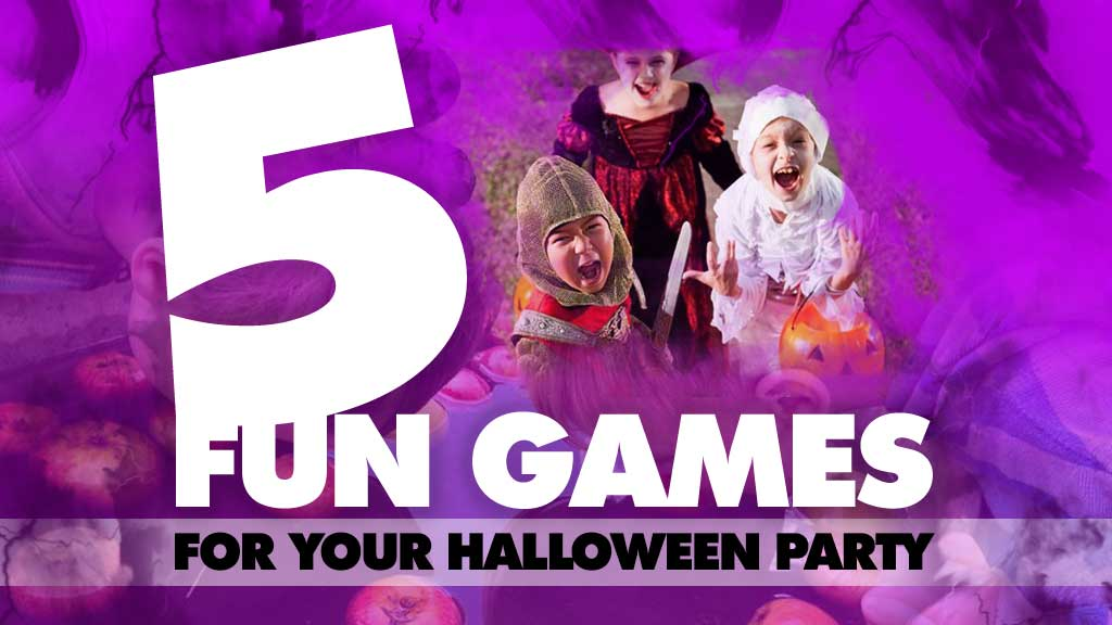 5 Fun Games for Your Halloween Party