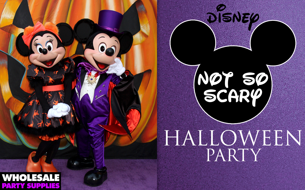 Disney Not-so-Scary Halloween Party