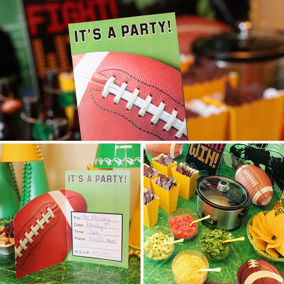 Football-Party-Invite