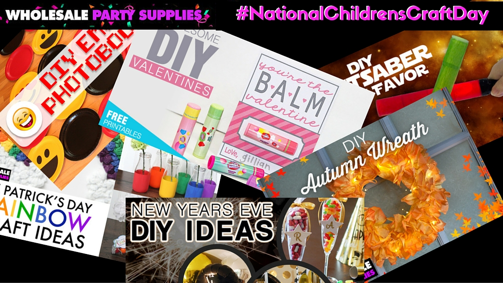 Get Creative on #NationalChildrensCraftDay!