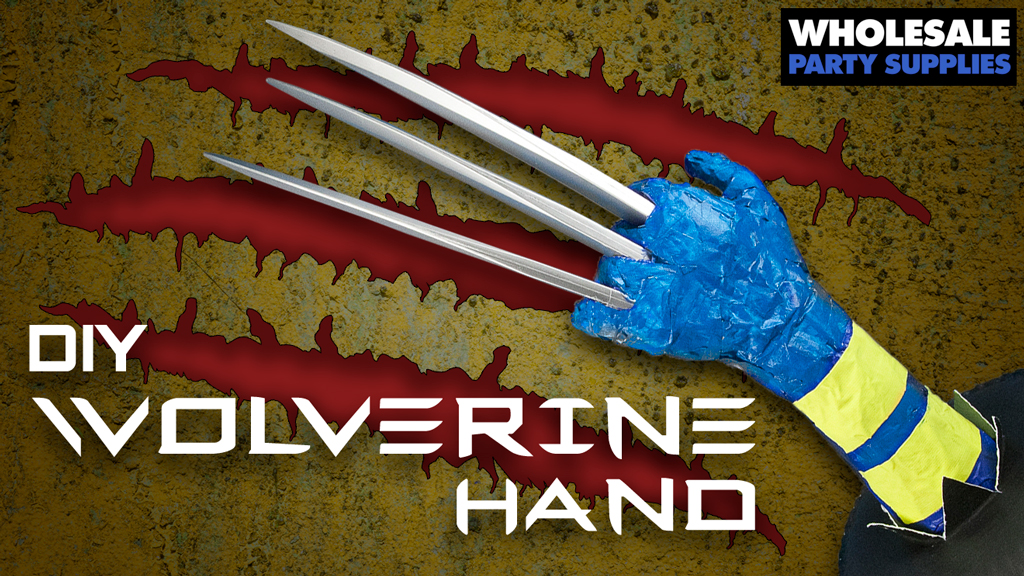 Check Out This Clawsome DIY Wolverine Hand Centerpiece!