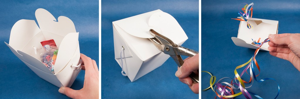 DIY Favor Box Pinata Step 1