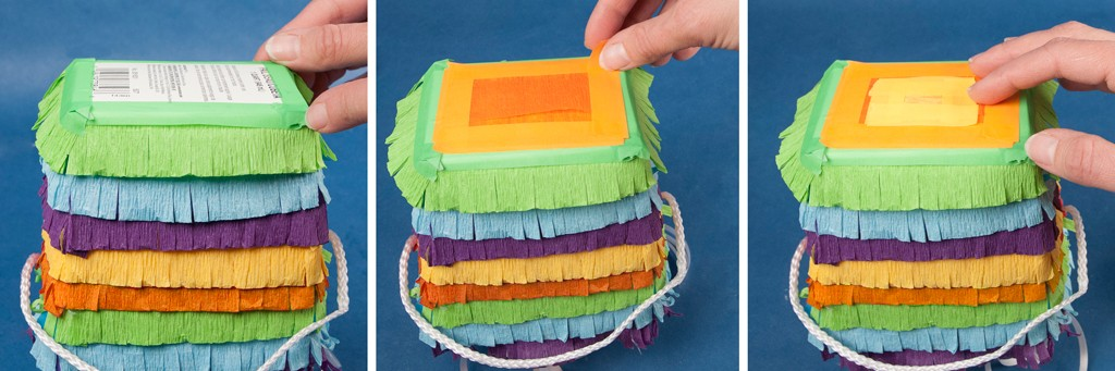 DIY Favor Box Pinata Step 3