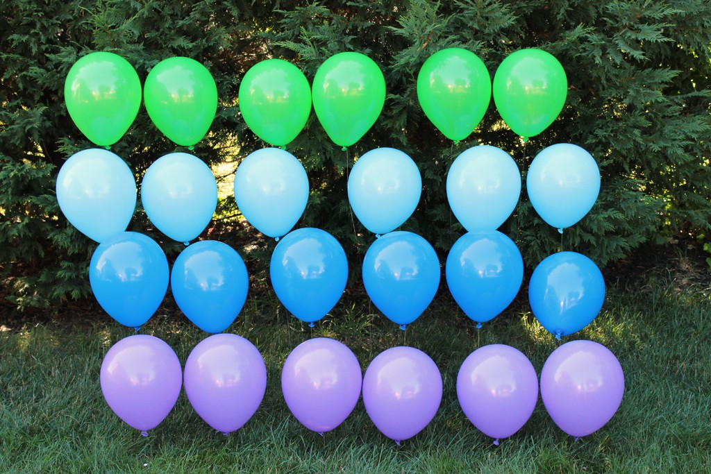 DIY Balloon Backdrop - Full wall
