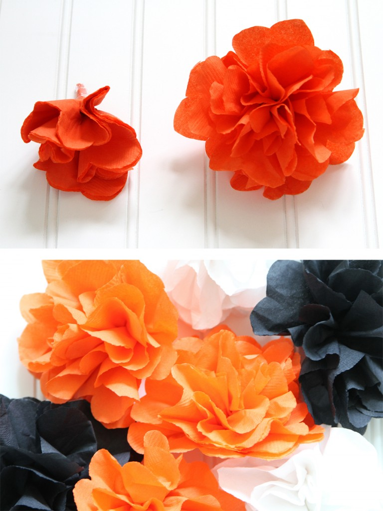 Napkin Flower Background Step 4