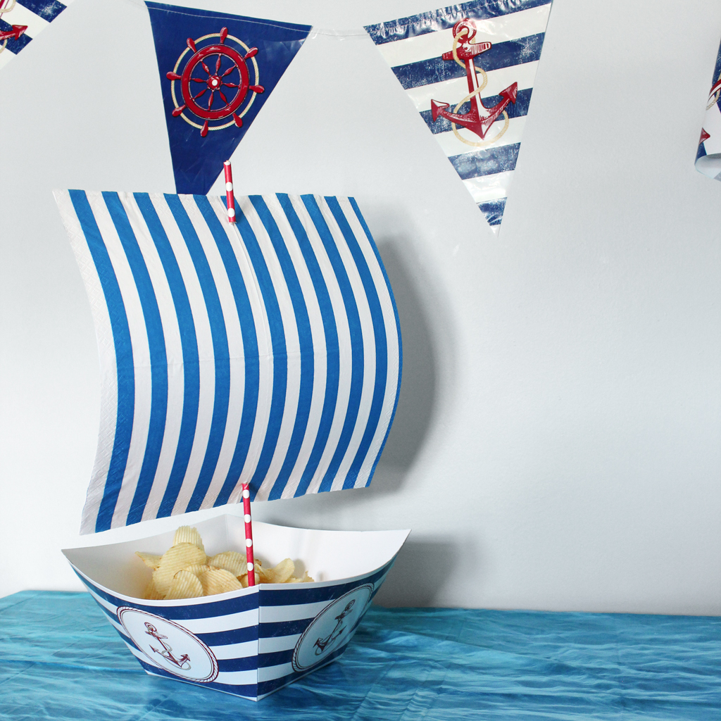 Nautical Boat Snack Final Look