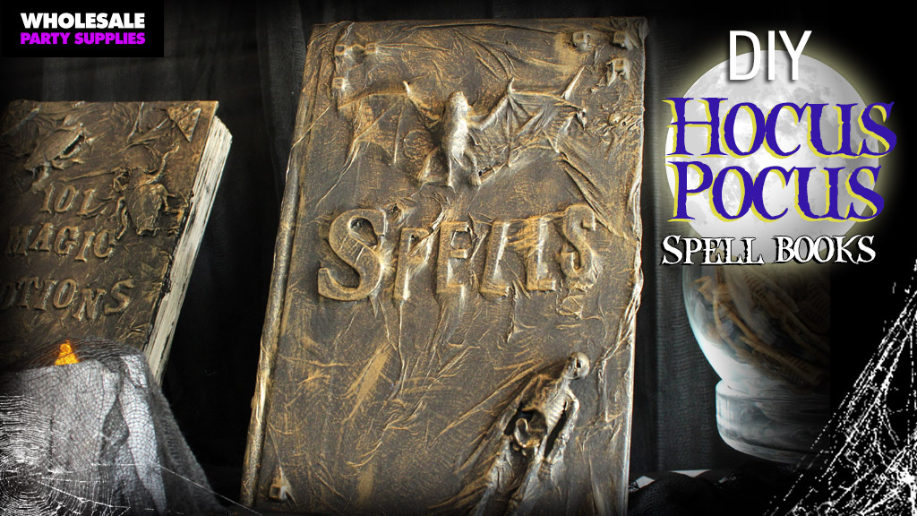 DIY Hocus Pocus Magic Spell Books