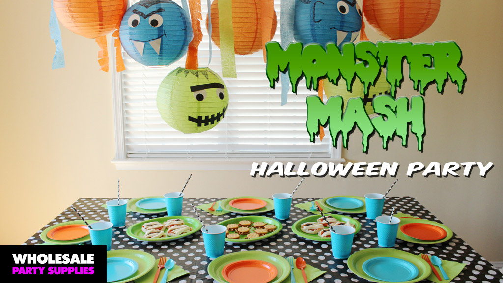 DIY Monster Mash Halloween Party Ideas