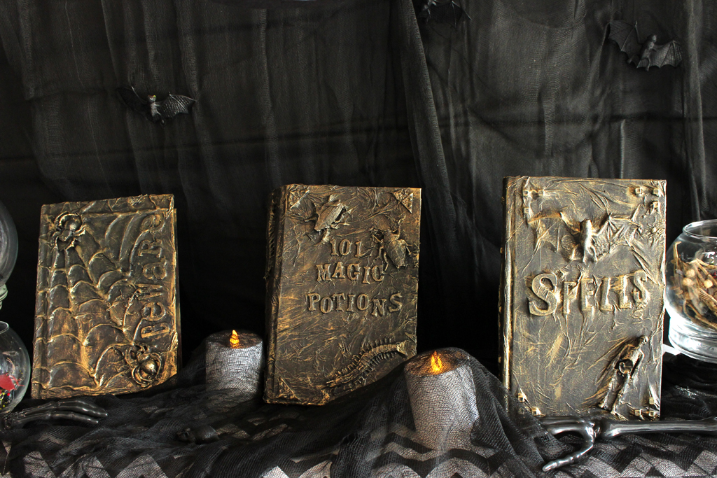 HP Spell Books