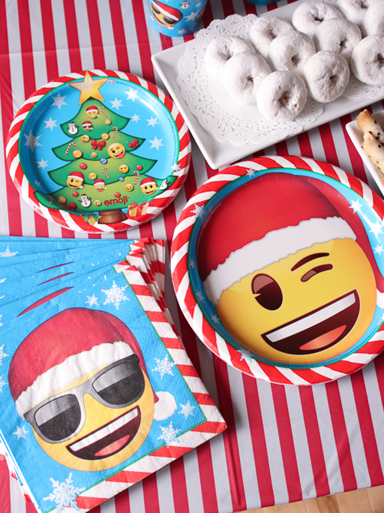 Emoji Christmas Tableware
