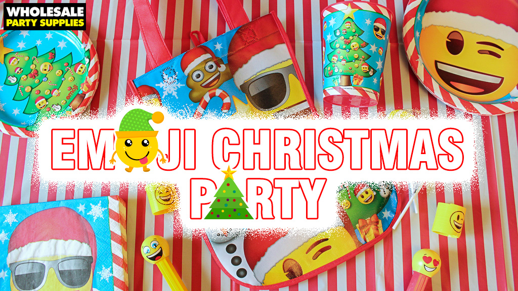 Christmas Emoji Party