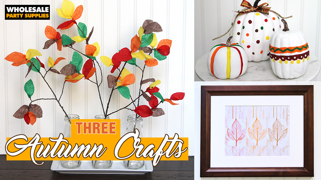 DIY Thanksgiving Kids Crafts