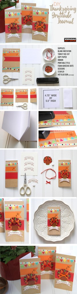 DIY Thanksgiving Gratitude Journal Pinterest Guide