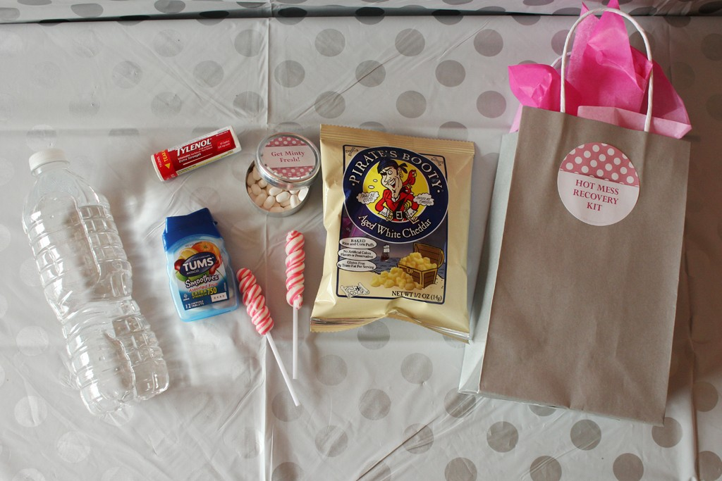 21st Birthday Favor Kit