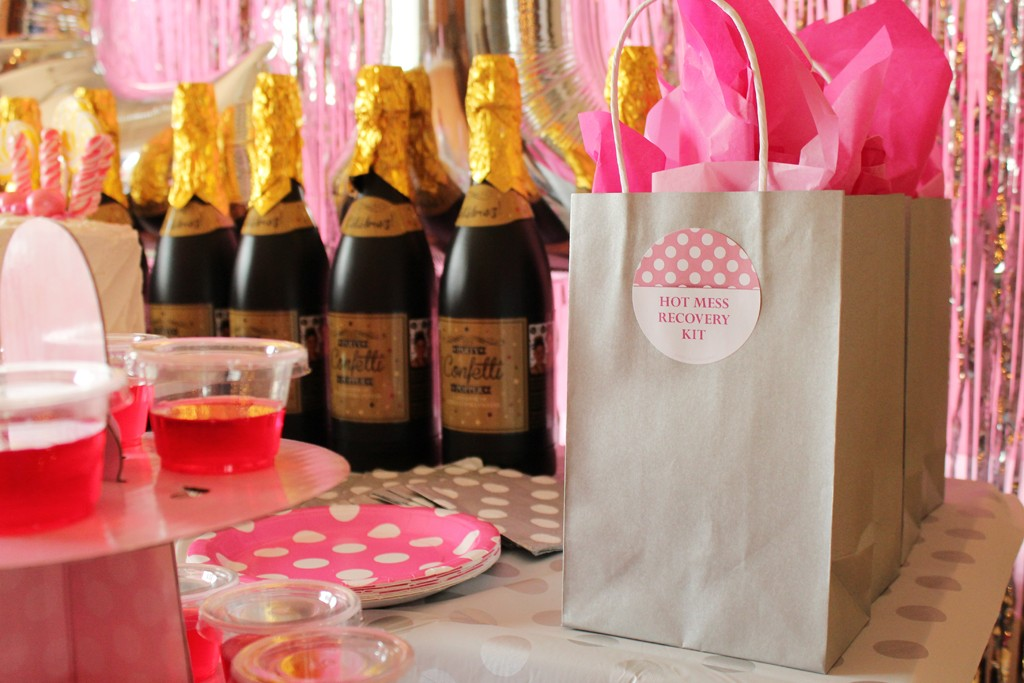 21st Birthday Favor Bags