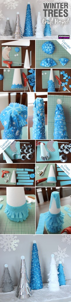 Winter Trees Craft Pinterest Guide