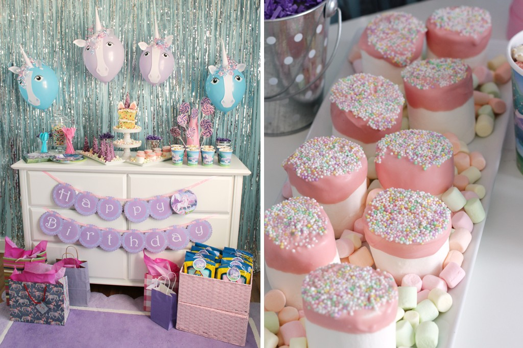 Magical Unicorn Party Food