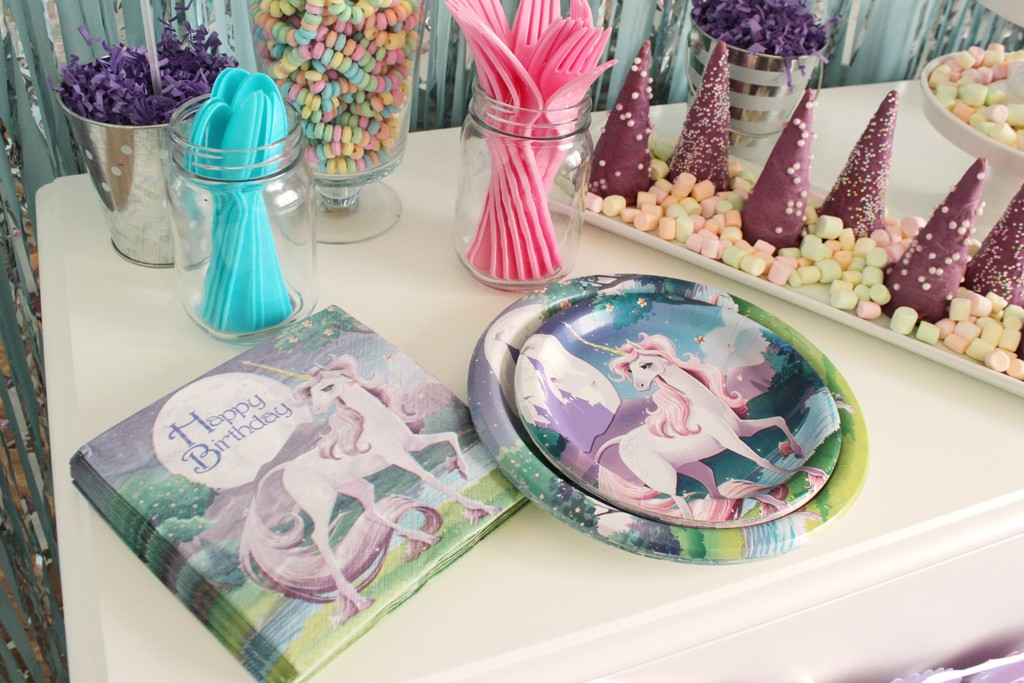 Magical Unicorn Party Tableware