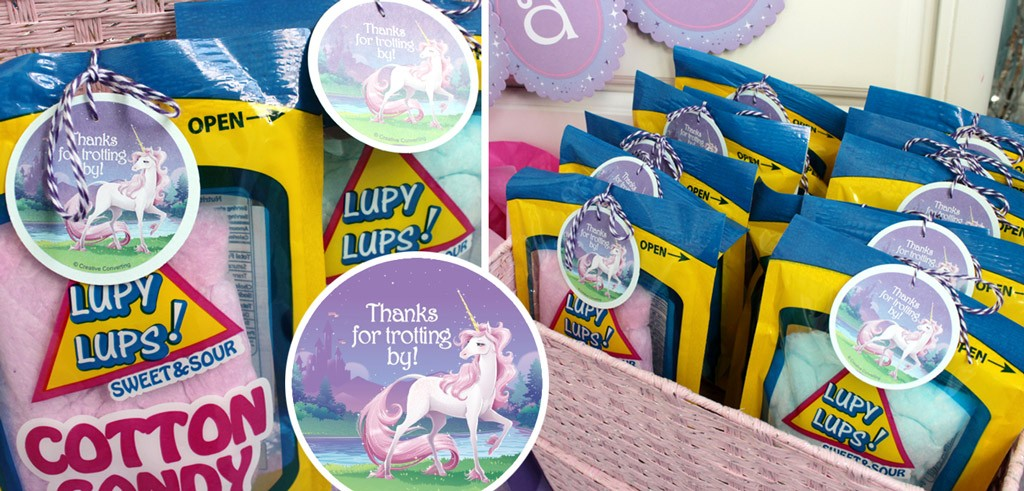 Magical Unicorn Party Favors