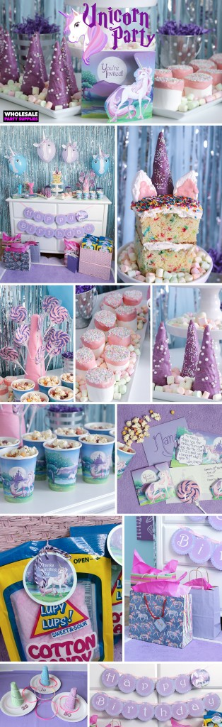 Magical Unicorn Party Ideas Pinterest