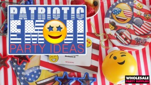 Patriotic Emoji Party Ideas