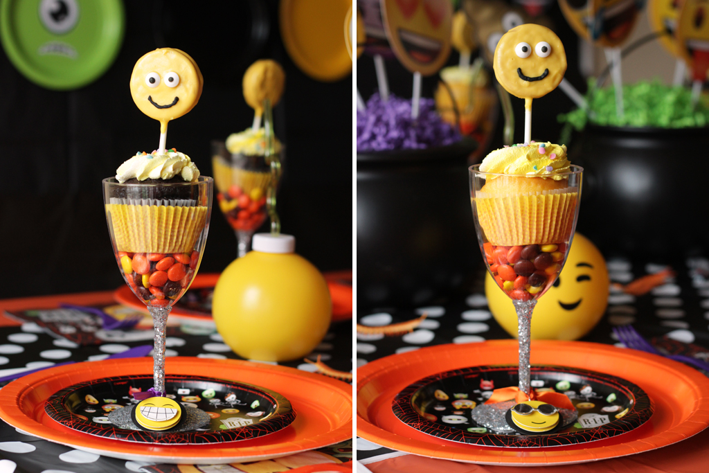 Halloween Emoji Party Food