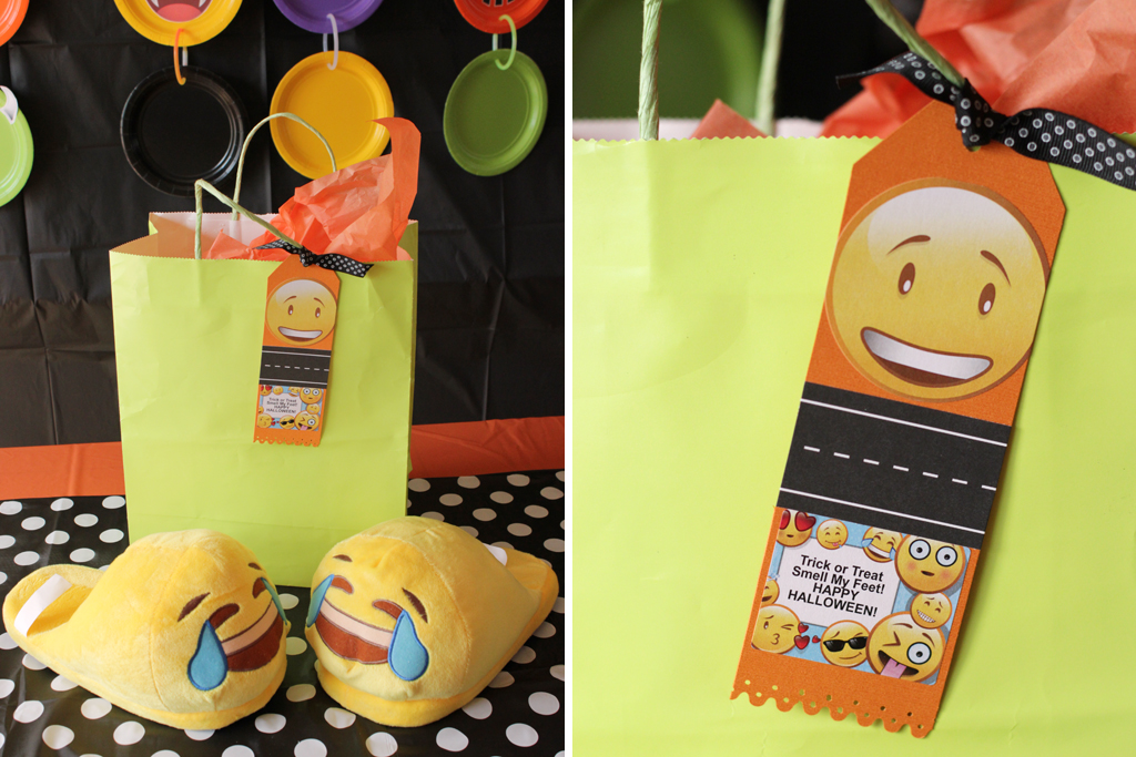 Halloween Emoji Party Favors