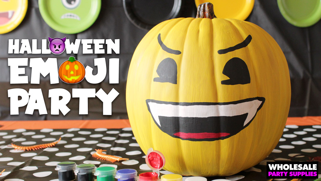 Halloween Emoji Party Ideas