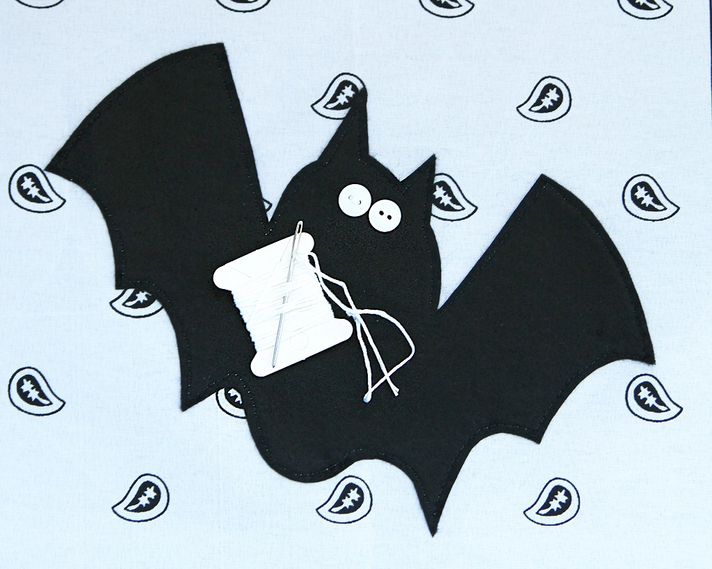 DIY Halloween Pillows Step 2