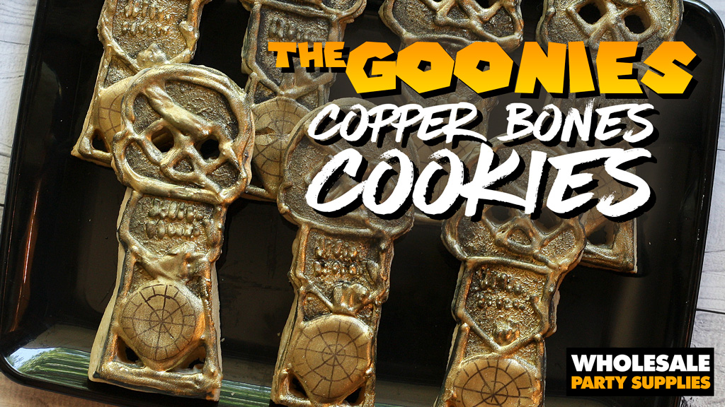 <em>The Goonies</em> Copper Bones Cookies