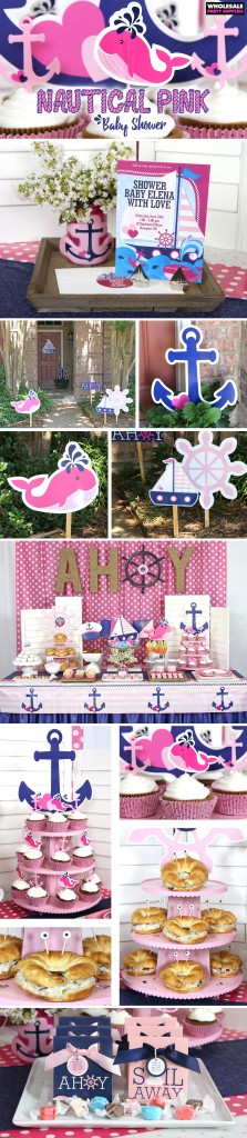 Nautical Pink Baby Shower Ideas Pinterest Guide