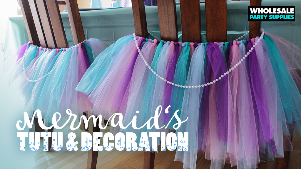 DIY Chair Tutu – Decoration and Party Favor