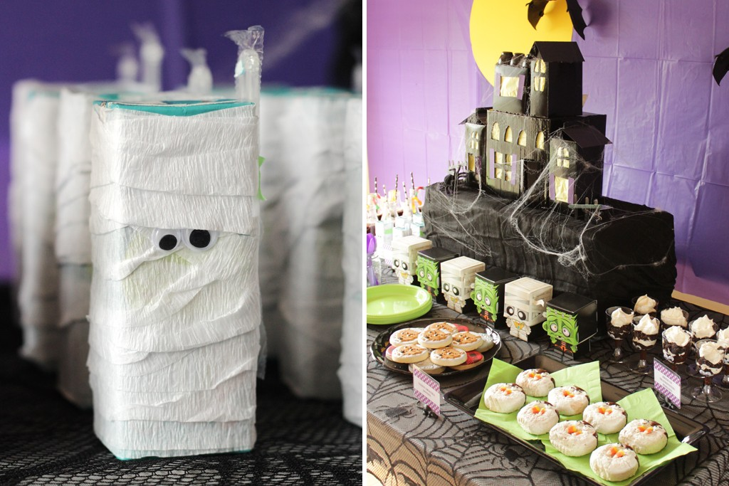 Classic Movie Monsters Halloween Party Food