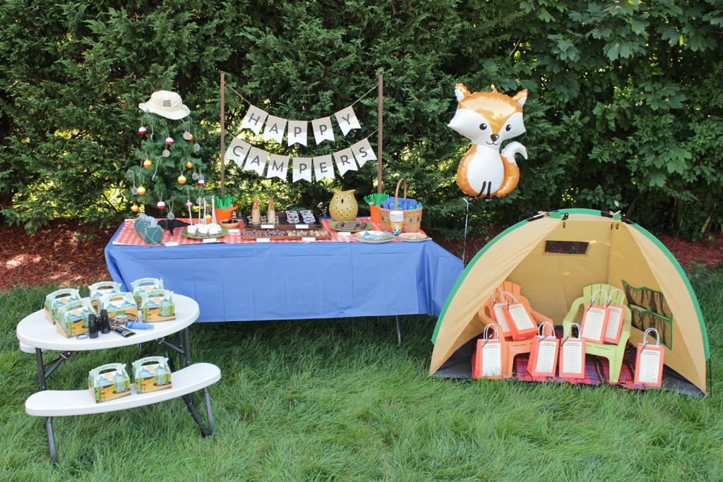 Let's Go Camping Party Decorations