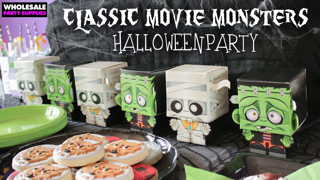 Classic Movie Monster Halloween Party Idea