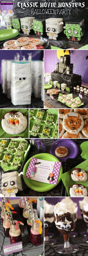 Classic Movie Monsters Halloween Party Pinterest Guide