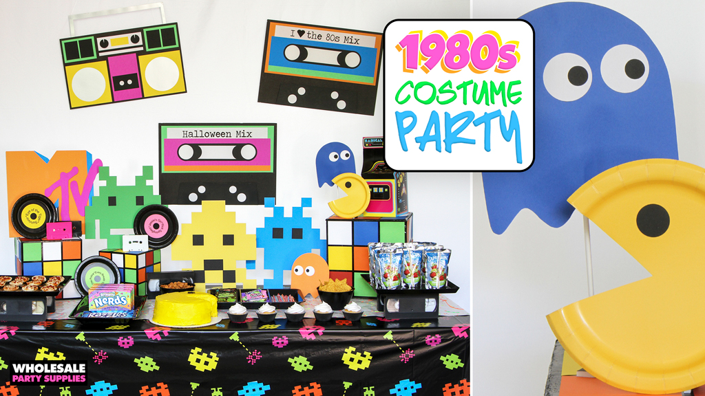 Retro 80s Party Ideas