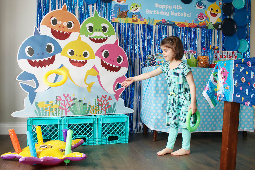 Baby Shark Party Games