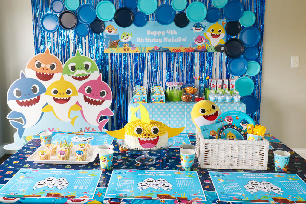 Baby Shark Party Decorations