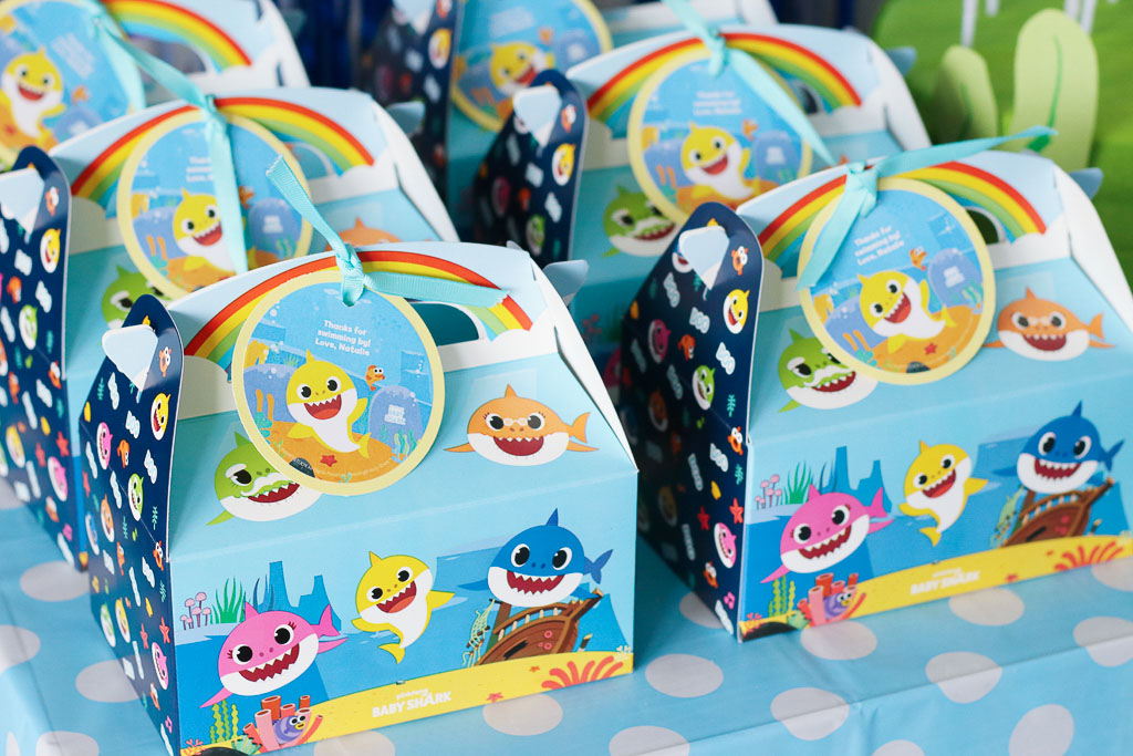 Baby Shark Party Favors