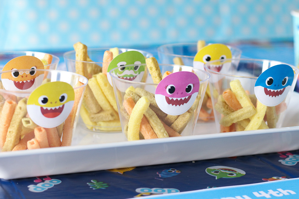 Baby Shark Party Food