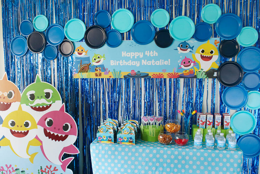 Baby Shark Party Food Table