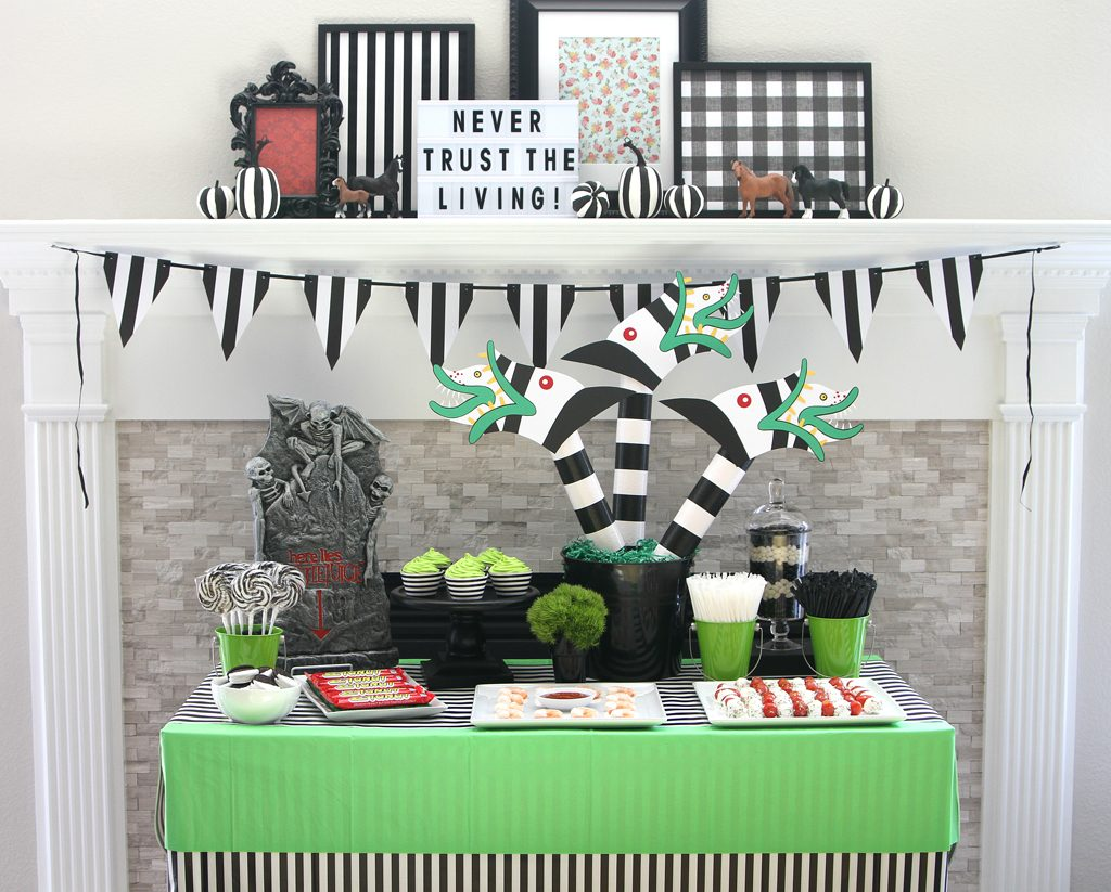 Beetlejuice Party Decorations