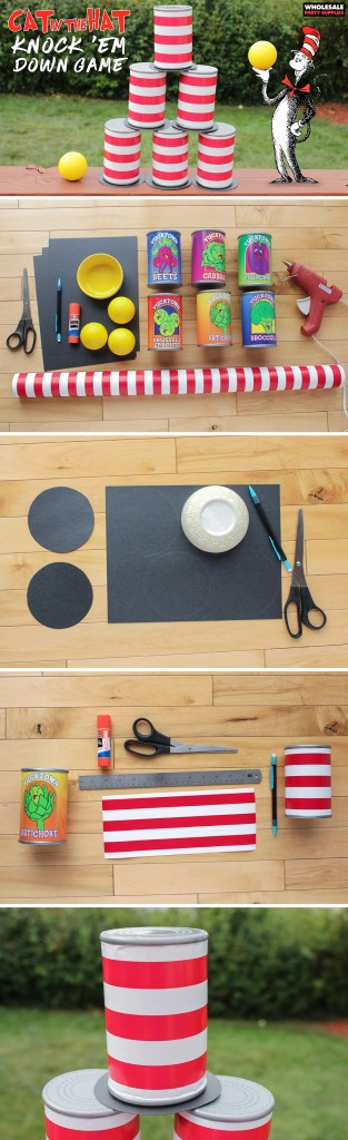 Can in the Hat Style Knock 'em Down Can Game Pinterest Guide
