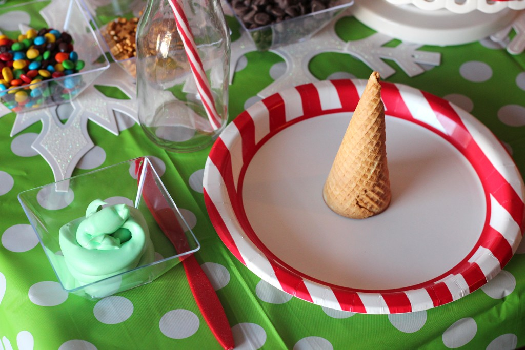 Christmas Crafting Party Tableware