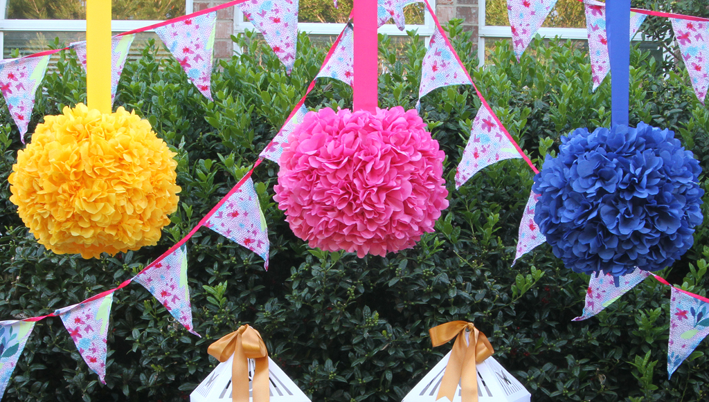 DIY Hanging Flower Globe Decoration