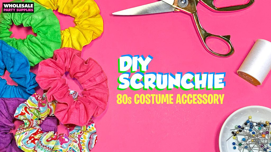 DIY Hair Scrunchie Tutorial