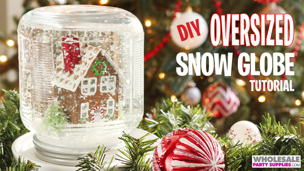 DIY Oversized Snow Globe