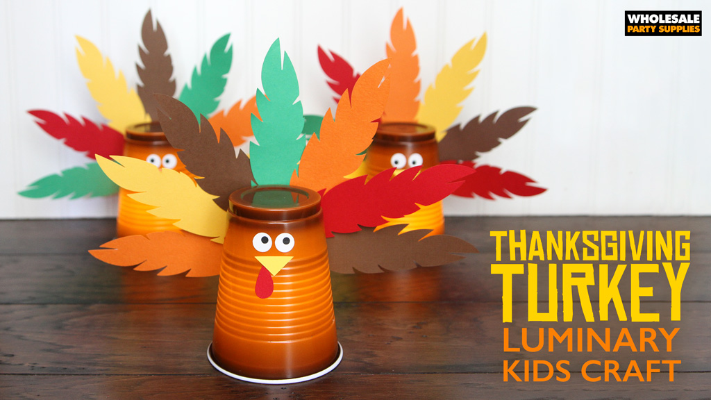 DIY Thanksgiving Turkey Luminary